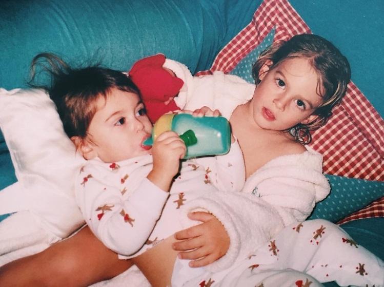 Счастливое детство: Кайя Гербер показала раритетное фото с братом