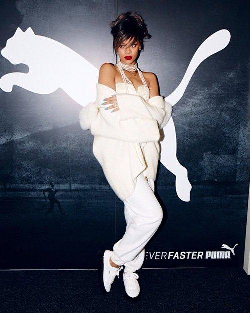 Рианна стала креативным директором Puma
