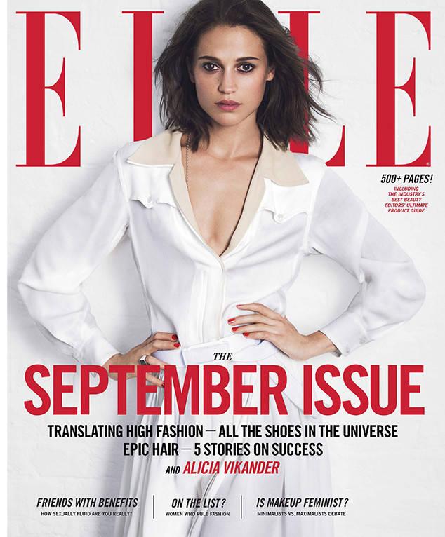 Алисия Викандер снялась в сексуальной фотосессии и рассказала о соперничестве с Анджелиной Джоли