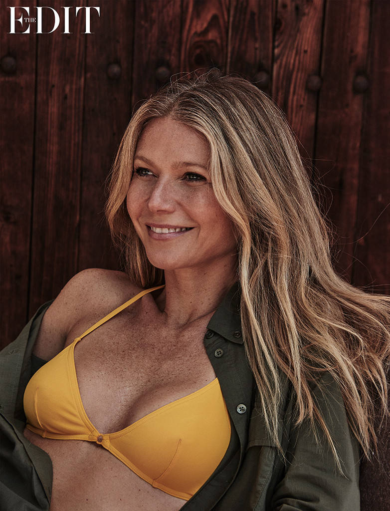 44-летняя Гвинет Пэлтроу восхищает идеальной фигурой и естественной красотой в новой фотосессии