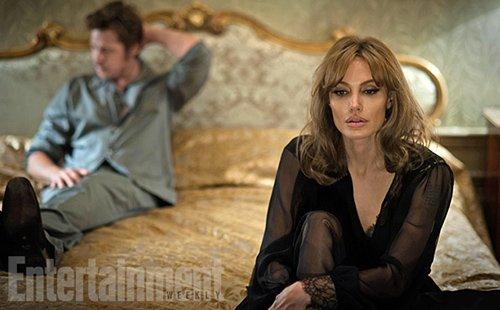 Анджелина Джоли и Брэд Питт У моря
