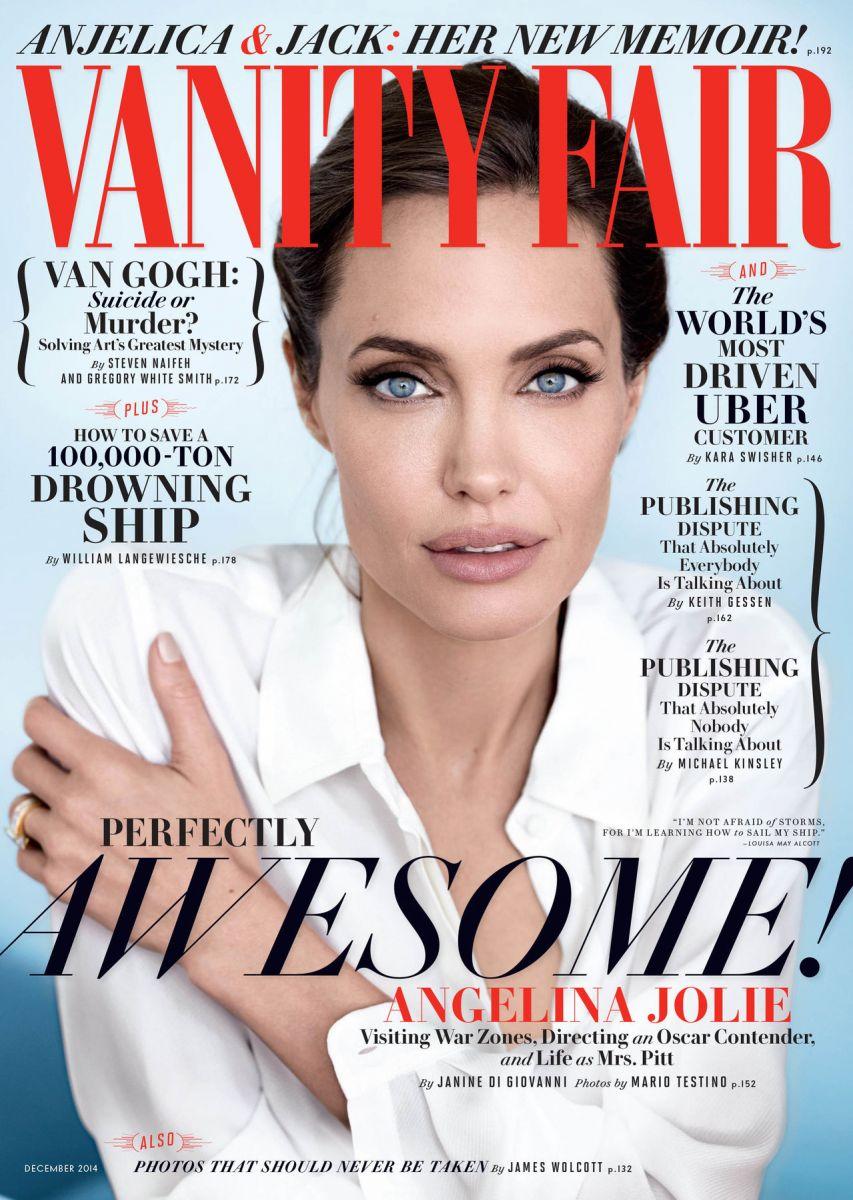Анджелина Джоли в элегантной фотосессии