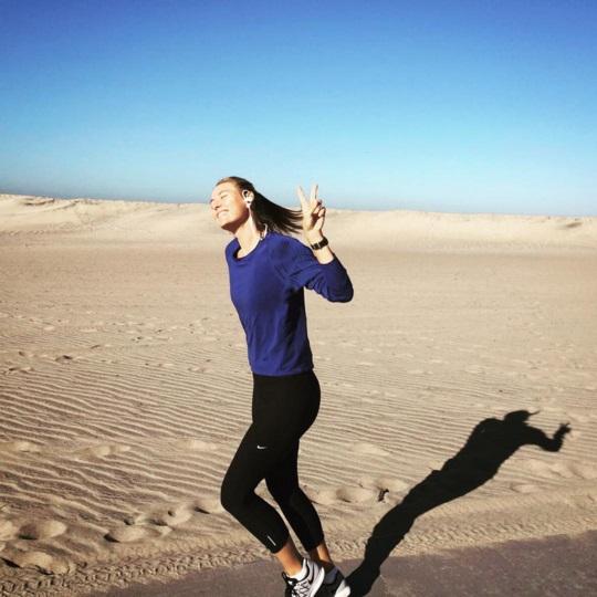 Будни спортсменки: Мария Шарапова показала фотографии с тренировки