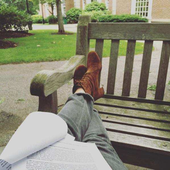 Фотоотчет студентки: Мария Шарапова поделилась фотографиями с учебы в Гарварде