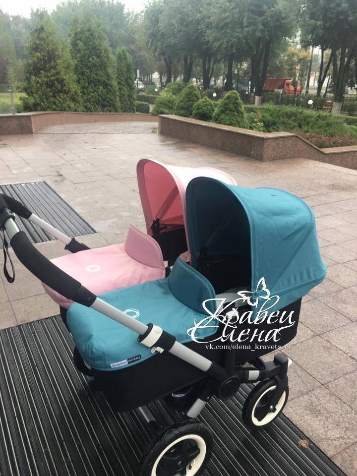 Елена Кравец показала огромную коляску для новорожденных двойняшек